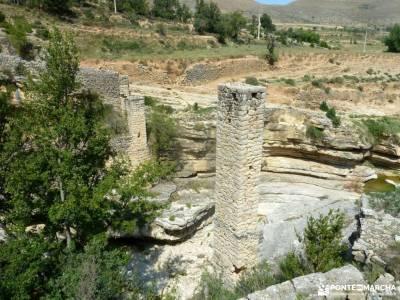 Comarca Maestrazgo-Teruel;cerezos en primavera sierra ayllon parque natural sierra de gredos